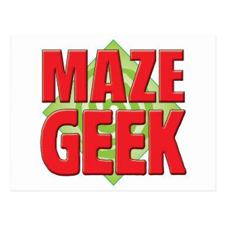 Maze Geek v2 Post Cards