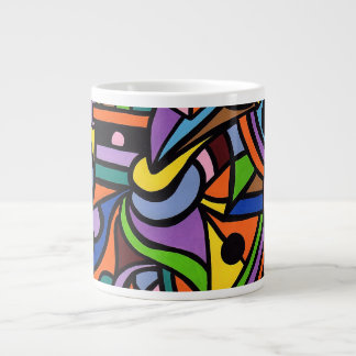 Maze Large Coffee Mug
