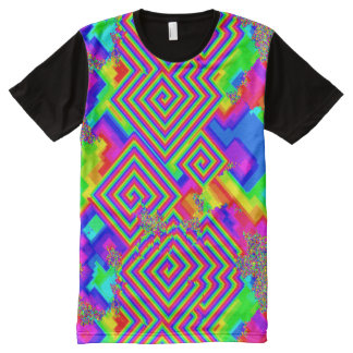 Maze of color All-Over-Print T-Shirt