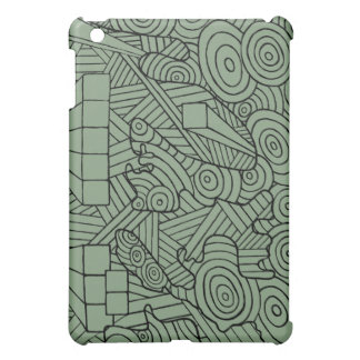 Maze of map. ipad case with original doodle design