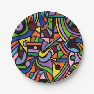 Maze Paper Plate