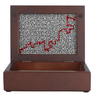 Maze Pattern Memory Box