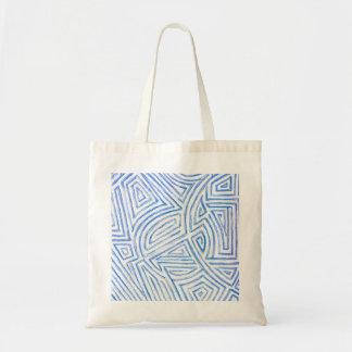 'Maze' Pattern Tote Bag