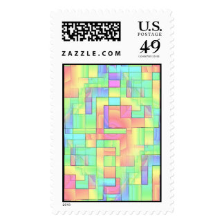 Maze Postage Stamps