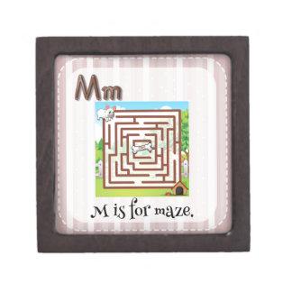 Maze Premium Trinket Box