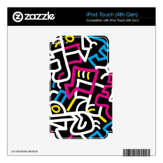 Mazed and Confused iPod Touch 4G Decals