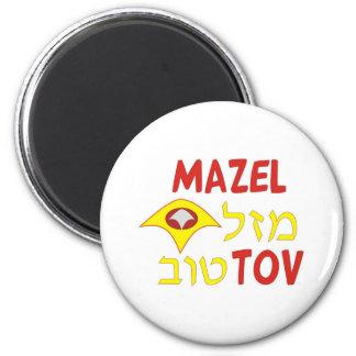 Mazel Tov 2 Inch Round Magnet