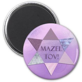 Mazel Tov! 2 Inch Round Magnet