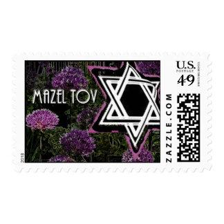 Mazel Tov 2 Postage Stamps