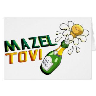 Mazel Tov Stationery Note Card