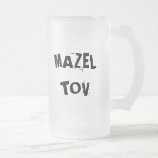 Mazel Tov Frosted Mug