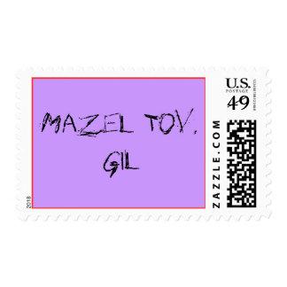 Mazel Tov, Gil Postage