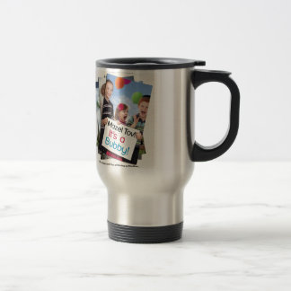 """Mazel Tov! It's a Bubby!"" book cover apparel Travel Mug"