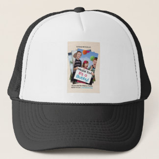 """Mazel Tov! It's a Bubby!"" book cover apparel Trucker Hat"