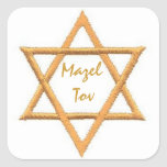 Mazel Tov/Star of David Stickers