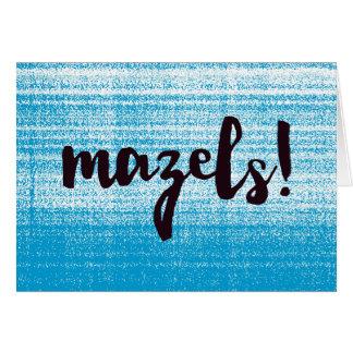 Mazels Blue Card