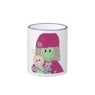mazey-and-babydoll ringer coffee mug