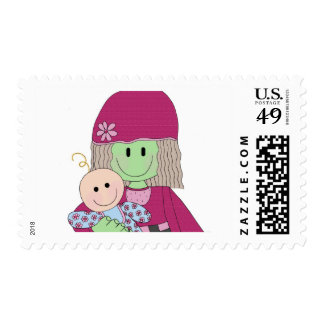 mazey-and-babydoll stamp