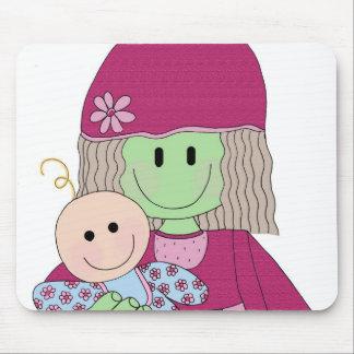 mazey-y-muñeca tapetes de ratón
