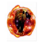 Mazmorra Zodiaco-Leo del arte Tarjeta Postal