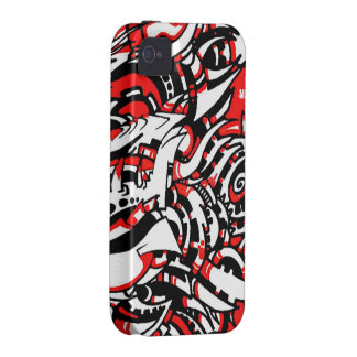 MAZO by smokeINbrains Case-Mate iPhone 4 Carcasa