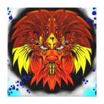 MAZO by smokeINbrains Gallery Wrapped Canvas