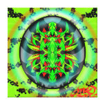 MAZO by smokeINbrains Stretched Canvas Print