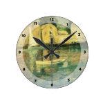Mazorca de John Henry Twachtman- Lechuga romana Reloj De Pared