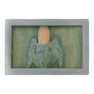 Mazorca de maíz hebillas cinturon rectangulares