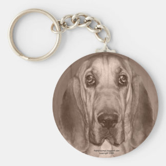 Mazy the Bloodhound by thoriinspired Key Chain