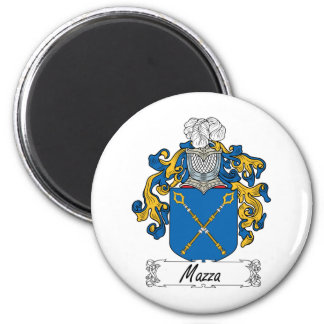 Mazza Family Crest Refrigerator Magnets