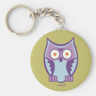 MAZZI the KING OWL Key Chains