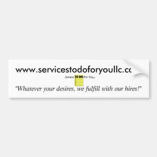 MB'sPhotoSuiteS2Do4UlogoJPG, www.servicest... Bumper Sticker