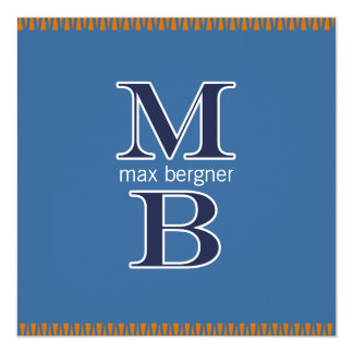 MB Bar Mitzvah (CUSTOM 3) Announcement