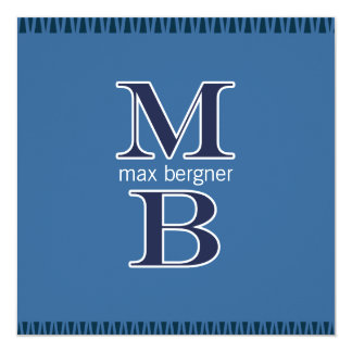 MB Bar Mitzvah (CUSTOM 4) Announcement