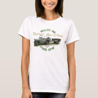 MB GPW Respect Your Elders - Ladies T-Shirt