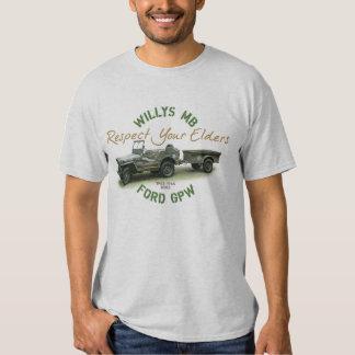 MB GPW Respect Your Elders  Mens T-shirt