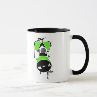 MB Green & Black Gas Mask Mug
