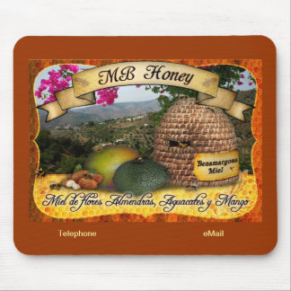 MB Honey from Benamargosa, Spain Mouse Pad