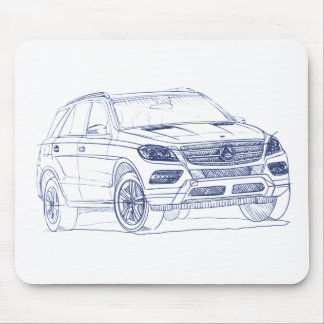 MB M class 2012 Mouse Pad