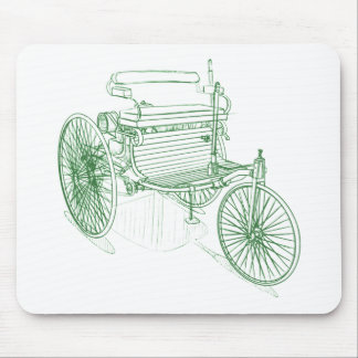 MB Patentwagen 1886 Mouse Pad