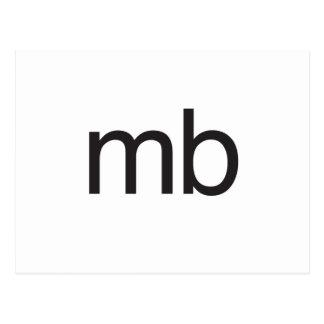 mb postcard