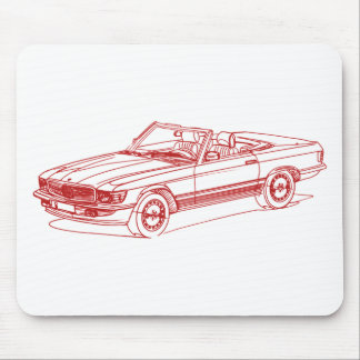 MB SL R107 1971-1989 MOUSE PAD