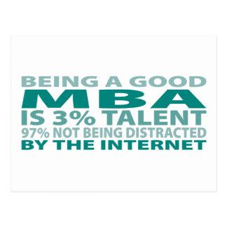 MBA 3% Talent Postcard