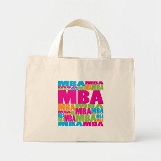 MBA colorido Bolsa De Tela Pequeña