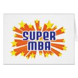 MBA estupendo Tarjetas