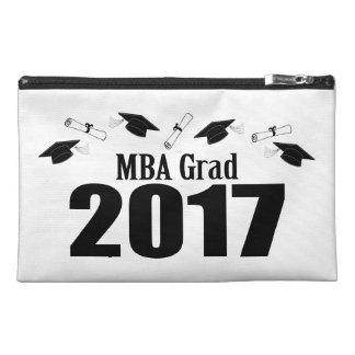 MBA Grad 2017 Caps And Diplomas (Black) Travel Accessory Bag