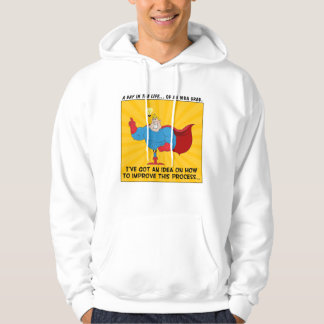 MBA Graduates Know the Answers to All Problems Hooded Sweatshirts