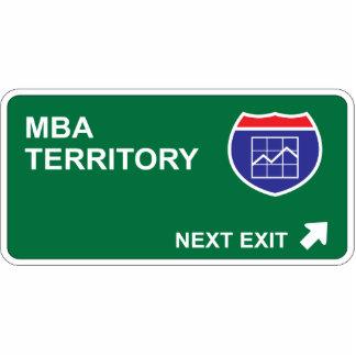 MBA Next Exit Photo Sculpture