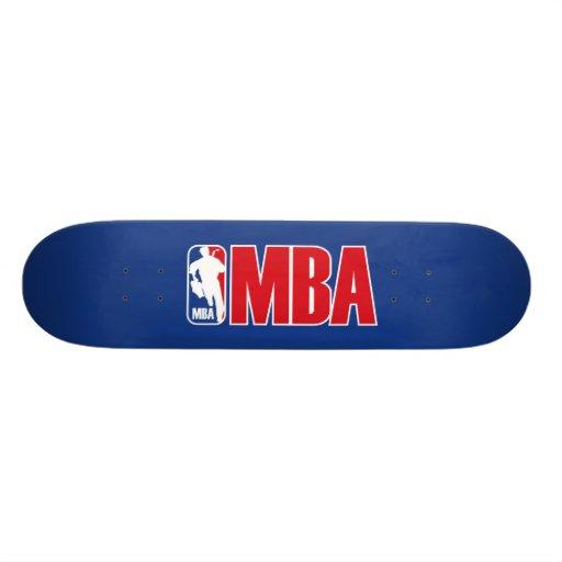 MBA SKATE BOARD DECKS